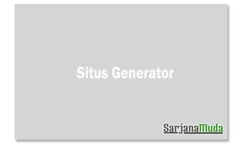 Situs Generator
