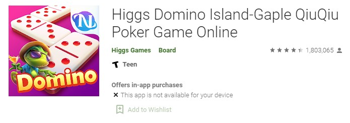 Download Higgs Domino Island Apk